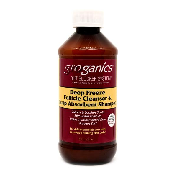 Groganics Deep Freeze Follicle Cleanser & Scalp Absorbent Shampoo