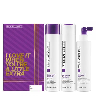 Paul Mitchell Extra-body Trio Holiday Gift Set