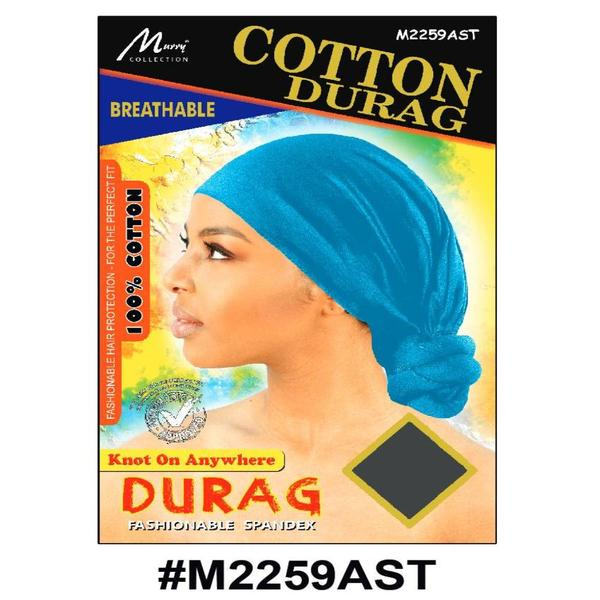 Murry Cotton Durag Assorted Color - M2259ast