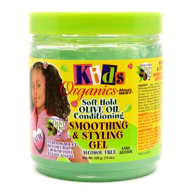 Kids Original Africa's Best Soft Hold Olive Oil Smoothing & Styling Gel