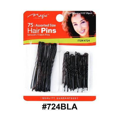 Magic Collection 75 Hair Pins 724bla