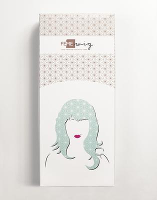 100% Premium Synthetic Wig - Modern Crimp