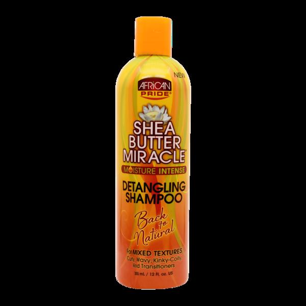 African Pride Shea Butter Miracle Moisture Intense Detangling Shampoo