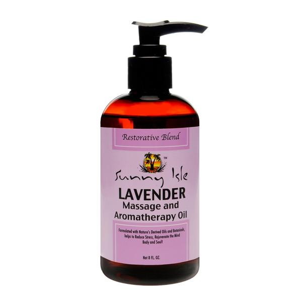 Sunny Isle Jamaican Black Castor Oil & Lavender Massage And Aromatherapy Oil