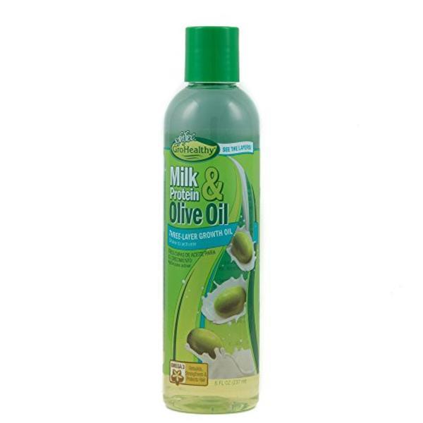 Sof N' Free Gro Healthy Milk & Olive Three Layer Growth Oil