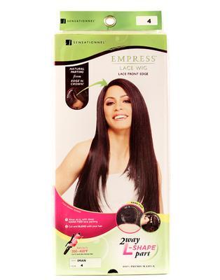 Sensationnel Empress Synthetic Lace Front Edge Wig - Iman