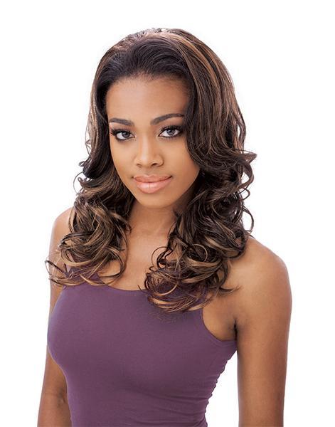 Sensationnel Instant synthetic Hair Half Wig - Fm 7045 Loretta