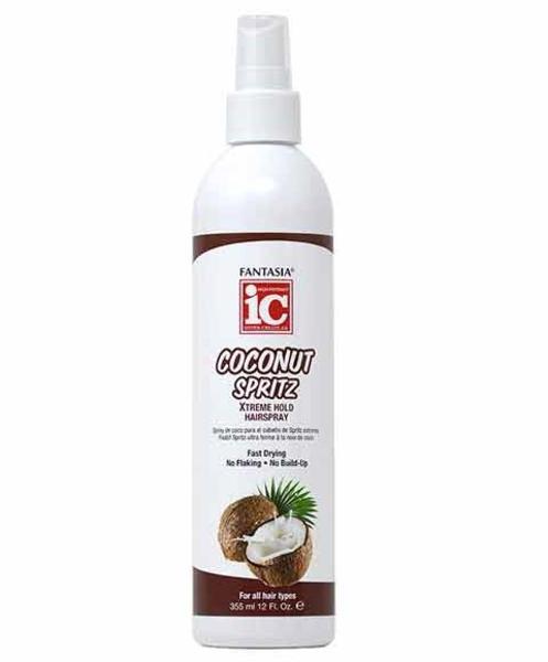 Ic Fantasia Coconut Spritz Xtreme Hold Hairspray