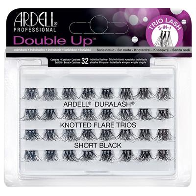 Ardell Double Up Knotted Flare Trios - Black