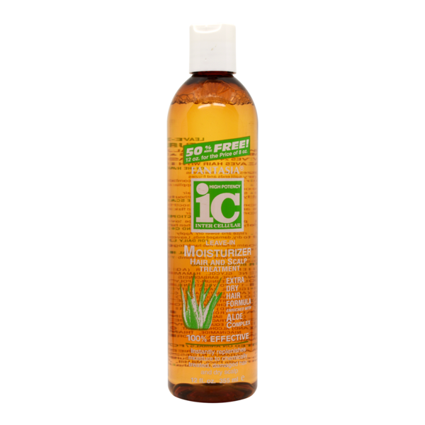 Ic Fantasia Leave-in Moisturizer Hair & Scalp Treatment With Aloe Complex