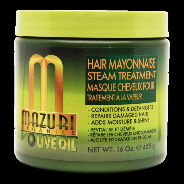 Mazuri Olive Oil Hair Mayonnaise Steam Treatment