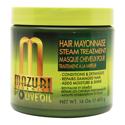 Mazuri Olive Oil Hair Mayonnaise Steam Treatment