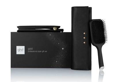 Ghd Gold Hair Straightener & Paddle Brush Gift Set