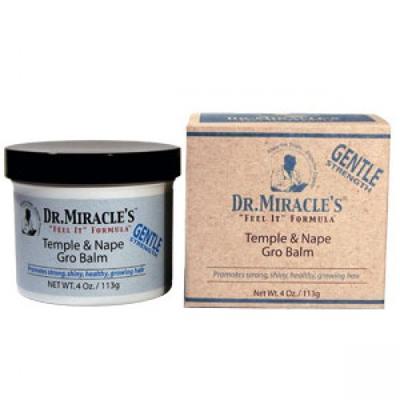 Dr Miracles Temple And Nape Grow Balm 4oz Regular