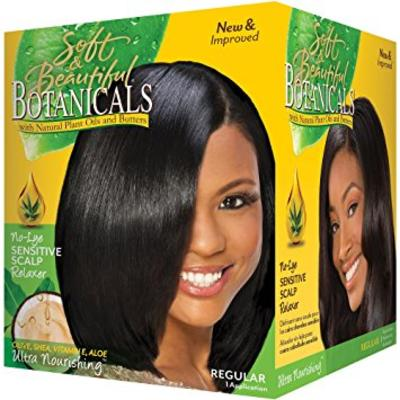 Soft And Beautiful Botanicals No Lye Sensitive Scalp Relaxer