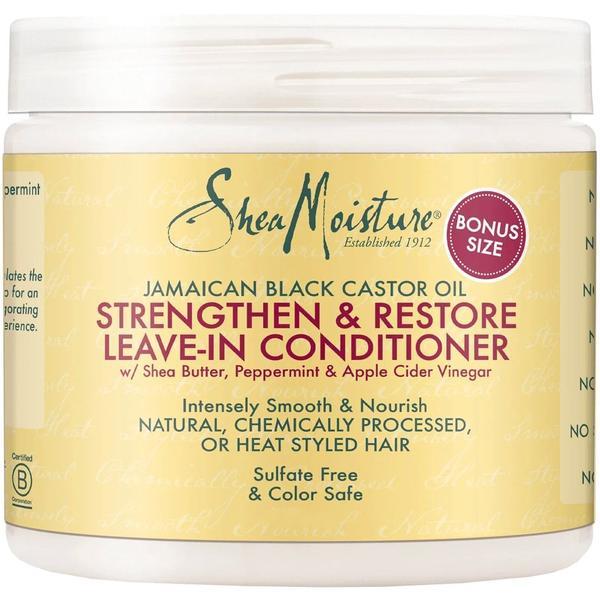 Shea Moisture Jamaican Black Castor Oil Strengthen, Grow & Restore Leave-in Conditioner 15oz