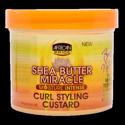 African Pride Shea Butter Miracle Moisture Intense Curl Styling Custard