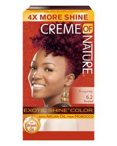 Creme Of Nature Exotic Shine Permanent Hair Colour With Argan Oil