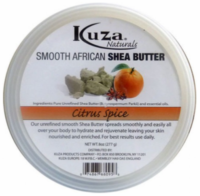 Kuza Smooth African Shea Butter Citrus Spice