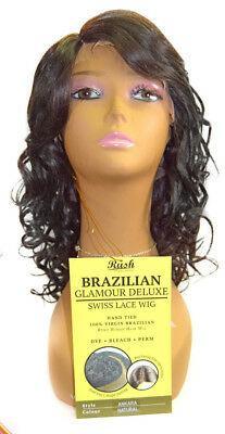 Rush Brazillian Human Hair Glamour Lace Wigs Ankara
