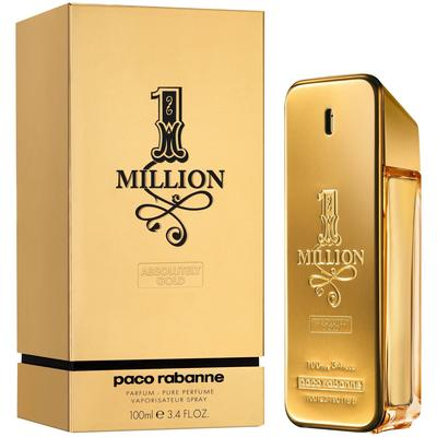 Paco Robanne One Million Absolutely Gold Pure Perfume Spray For Him