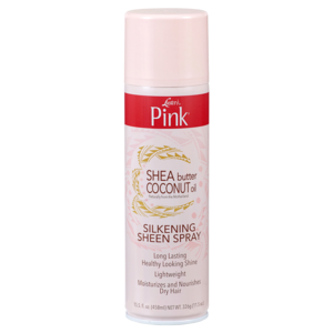 Luster's  Pink Shea Butter Coconut Oil Silkening Sheen Spray