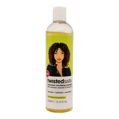 Twisted Sista Luxurious Clarifying Shampoo