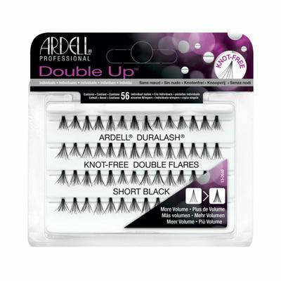 Ardell Double Up Knotted Double Flares Individual - Black