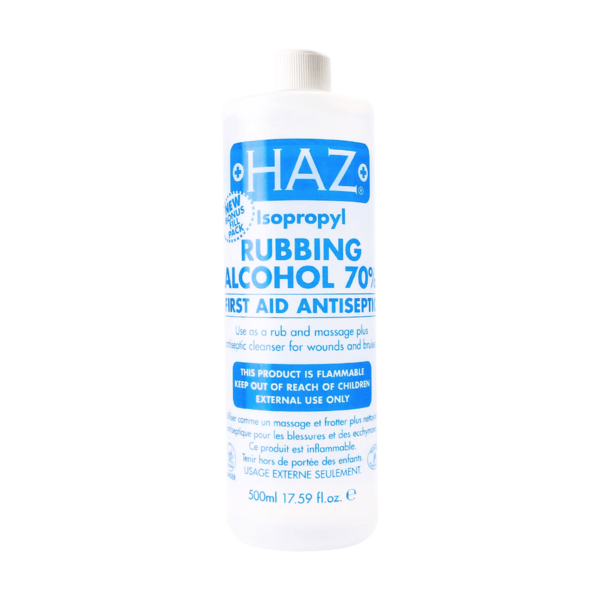 Haz Rubbing Alcohol 70%