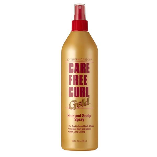 Care Free Curl Gold Hair & Scalp Spray