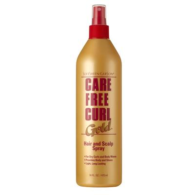 Care Free Curl Gold Hair & Scalp Spray