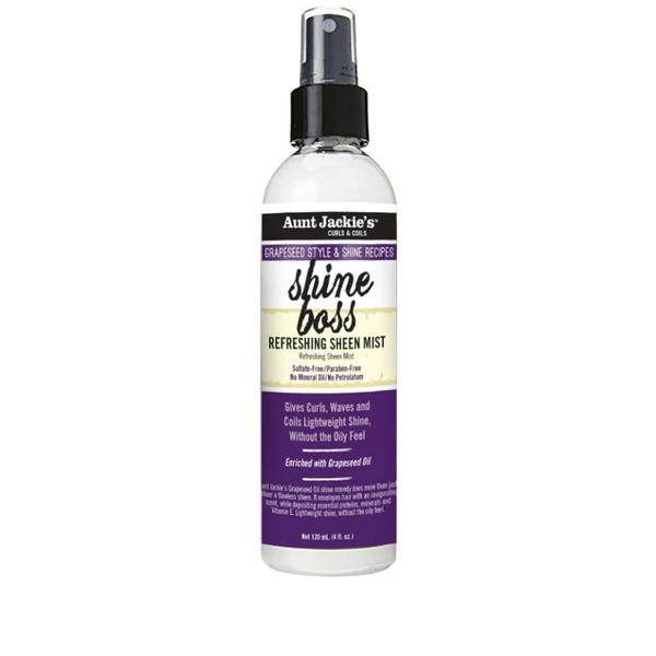 Aunt Jackie's Grapeseed Shine Boss Refreshing Sheen Mist