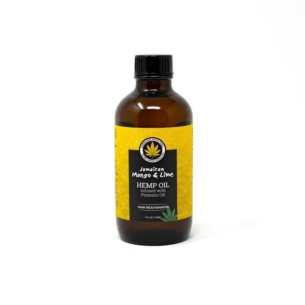 Jamaican Mango & Lime Hemp Oil Infused With Pimento Oil