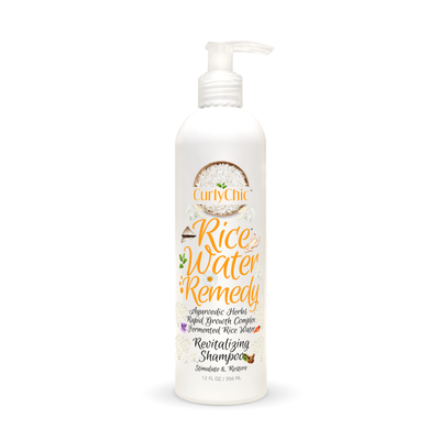 Curly Chic Rice Water Remedy Revitalizing Shampoo