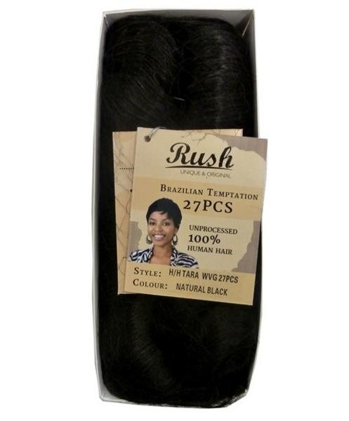 Rush 27 Pc's Natural Black