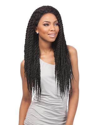 Sensationnel Empress Braided Synthetic Lace Wig - Senegal Lock Braids