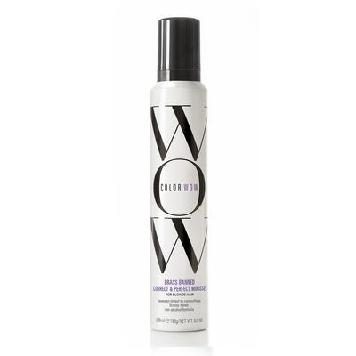 Color Wow Brass Banned Correct & Perfect Mousse For Blonde Hair