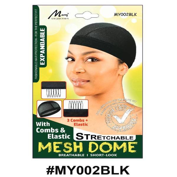 Murry Mesh Dome Cap Black - My002blk
