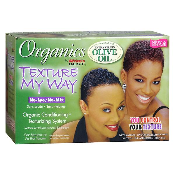 Texture My Way No-lye/no-mix Organic Conditioning Texturizing System