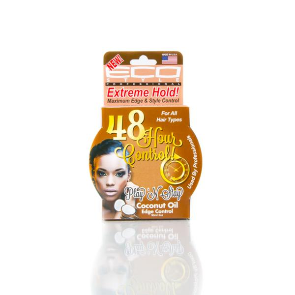 Eco Style Play 'n Stay Edge Control Coconut Oil