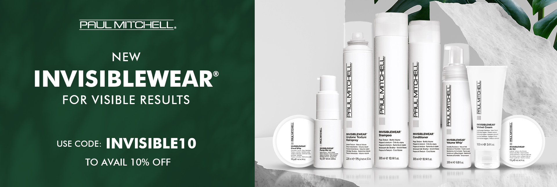 Paul Mitchell Invisiblewear