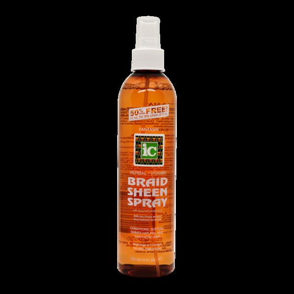 Ic Fantasia Braid Sheen Spray