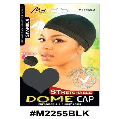 Murry Dome Cap Black - M2255blk