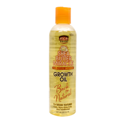 African Pride Shea Butter Miracle Moisture Intense Growth Oil For Mixed Textures