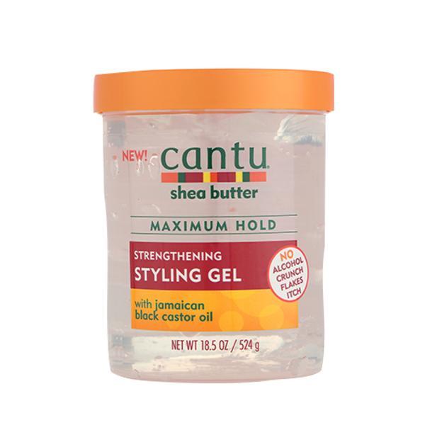 Cantu Shea Butter Strengthening Styling Gel - Maximum Hold