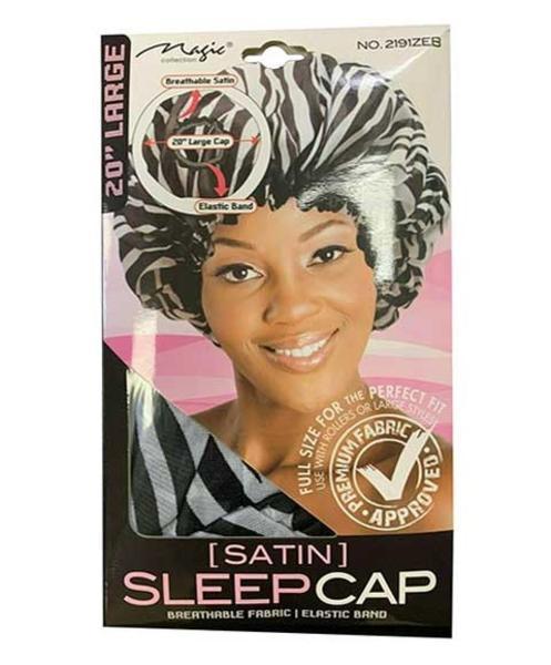 Magic Collection Large Satin Sleep Cap - 2191zeb