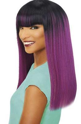 Sleek Tongable Synthetic Wig Vicky