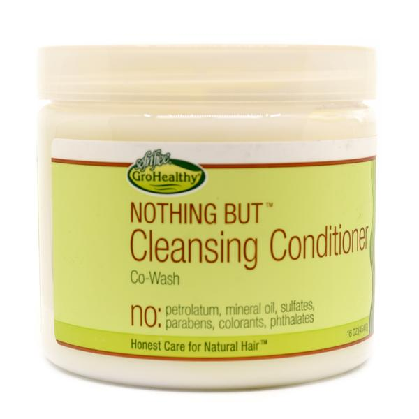 Sof N' Free Gro Healthy Nothing But Cleansing Conditioner