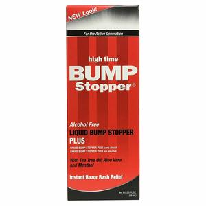 High Time Liquid Bump Stopper Plus Alcohol Instant Razor Rash Relief