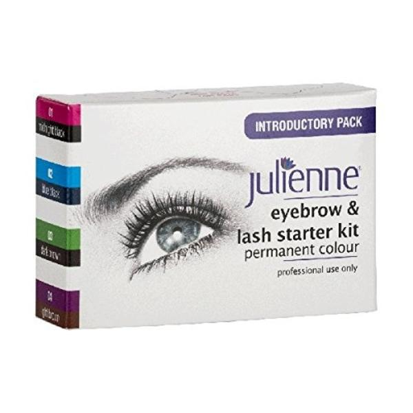 Julienne Eyebrow And Lash Starter Kit Permanent Colour